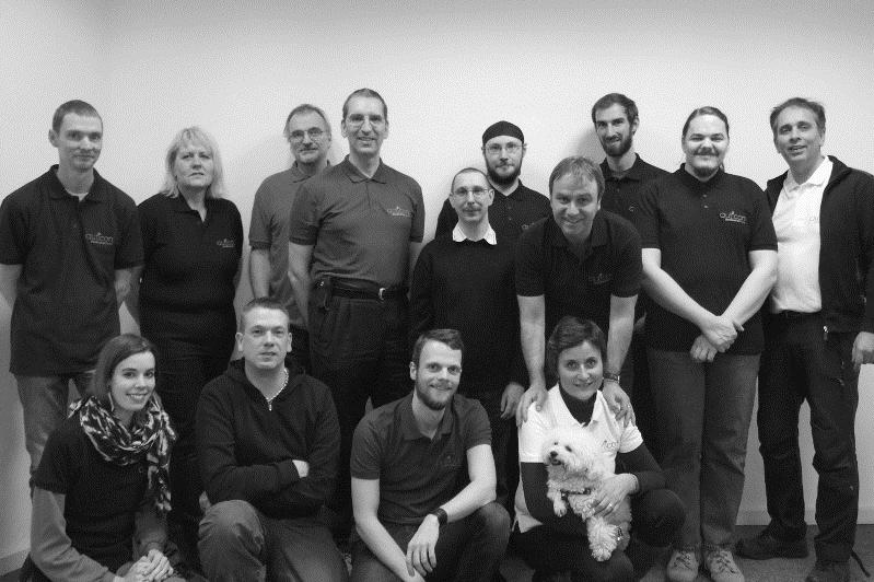 Das Berliner auticon-Team. Insgesamt hat auticon inzwischen 38 Mitarbeiter, 24 davon im Autismus Spektrum. Quelle: auticon GmbH